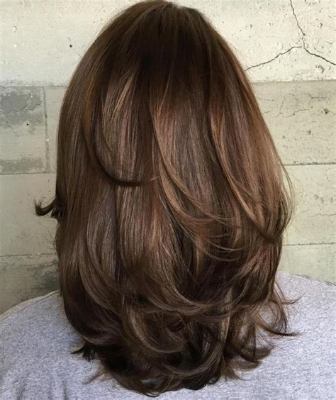 length hairstyles for best 25 medium length layered hairstyles ideas on