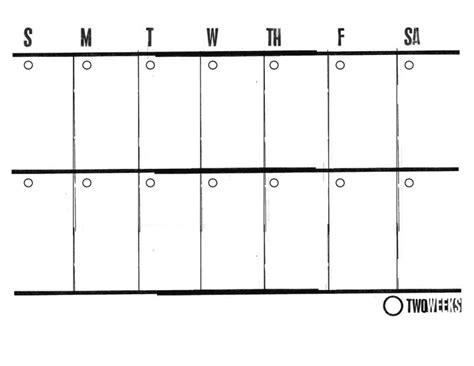 template two week calendar template word 2 printable weekly mac