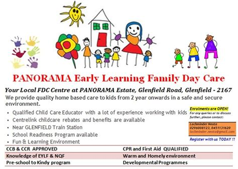 Panorama Early Learning Family Day Care in Glenfield