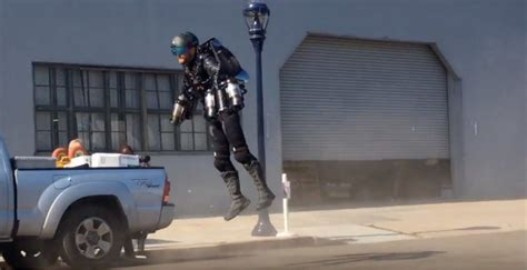 real life iron man flies comic jet powered