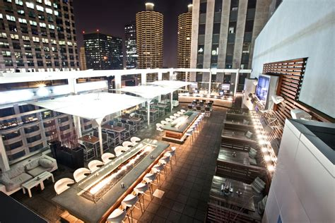 roof top bars in chicago thewit hotel chicago