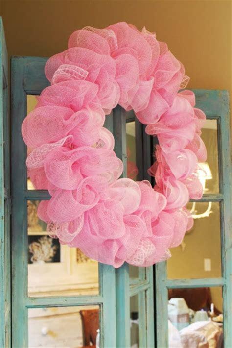 deco mesh ruffle wreath  kopy kat