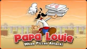 Papa louie free flash game flipline studios