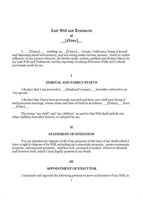 Best 7 Arkansas Last Will And Testament Template Form Images On Pinterest Template Arkansas Last Will And Testament Template Alabama