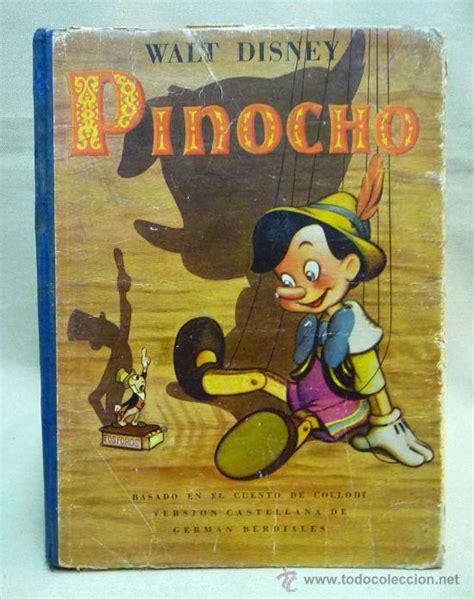 libro cuento pinocho 1940 walt disney bois comprar libros de cuentos en todocoleccion