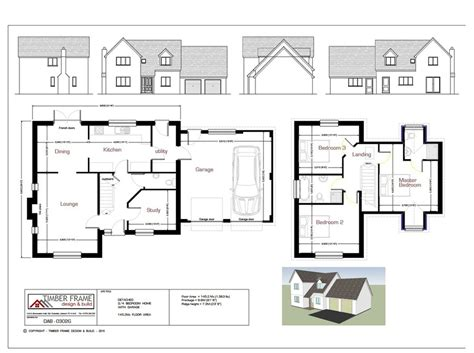 kit home design and supply tamworth timber frame design build especially for the self builder in cornwall and 3 bedroom