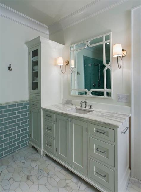 green bathroom vanity gray green bathroom vanity transitional