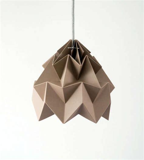 Moth Origami Lshade - minimalist origami lighting moth lshade
