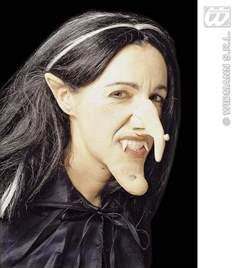 How To Make A Witch Nose Out Of Paper - buy witch set professional ears nose chin fancy dress
