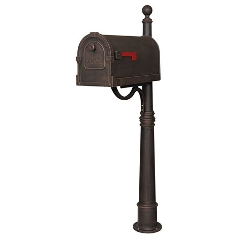 mailboxes for copper curbside mailbox with ashland mailbox post
