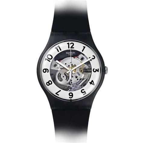 Swatch Tanggal Kulit setting tanggal jam tangan analog jam simbok