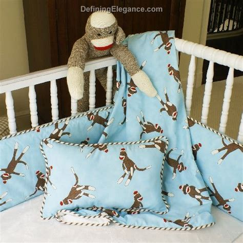 sock monkey baby bedding discontinued maddie boo sock monkey baby bedding
