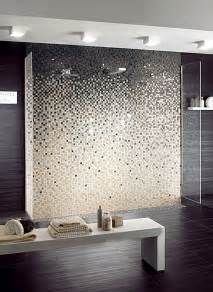 grey bathroom ideas with mosaic tiles nove home