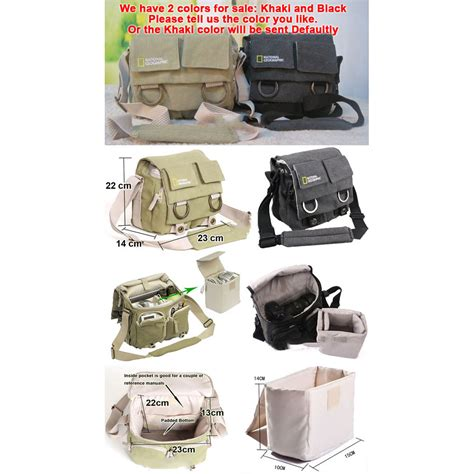Tas Laptop National Geographic Tas Kamera Selempang Dslr National Geographic Ng2345 Khaki Jakartanotebook