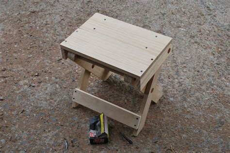 folding camp stool plans woodworking projects plans
