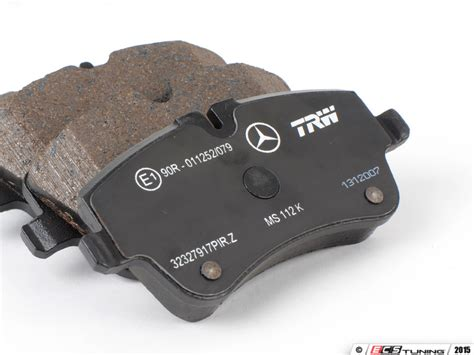 ecs news mercedes w203 brake pad service kits