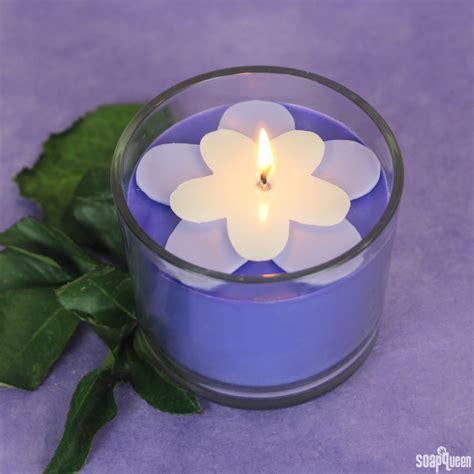 kerzenhalter blume purple blackberry flower candle soap