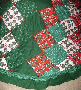 Patchwork Tree Skirt Pattern - tree skirt crochet pattern free