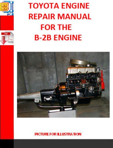 service manual manual repair engine for a 2004 toyota matrix 2004 toyota matrix problems toyota b 2b engine repair manual download manuals technical