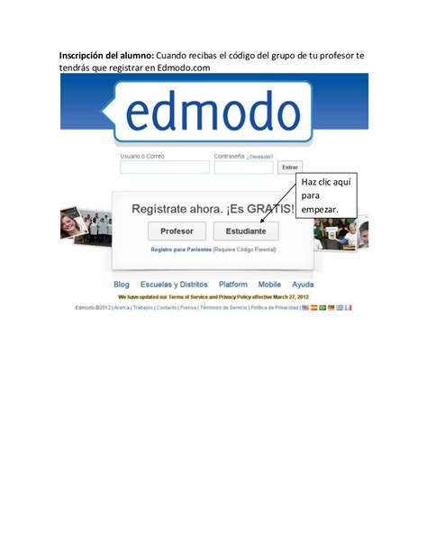 tutorial about edmodo edmodo tutorial del alumno
