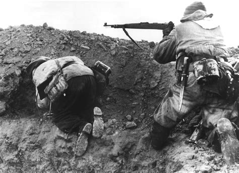ww2 german soldiers fighting german soldiers fighting in the coal mines near the town