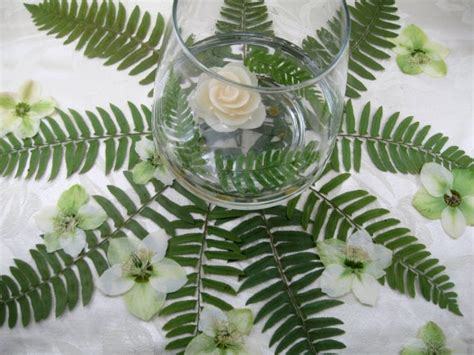 fern decor fern table decor wedding ideas