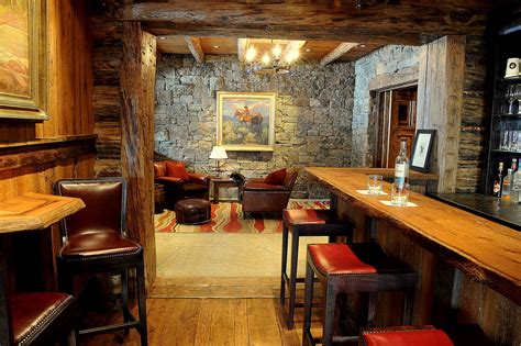 pub room rustic basement bar ideas home bar rustic with metal bar