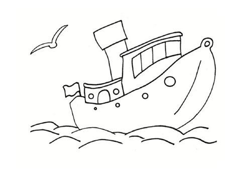 dessin d un bateau sur l eau coloriage mer des dessins 224 imprimer