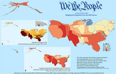 map of usa with population april 2011 views of the world