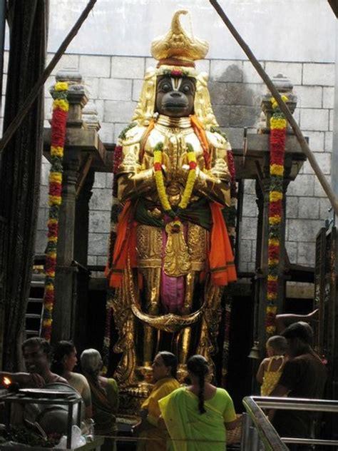 anjaneya temple   top     namakkal