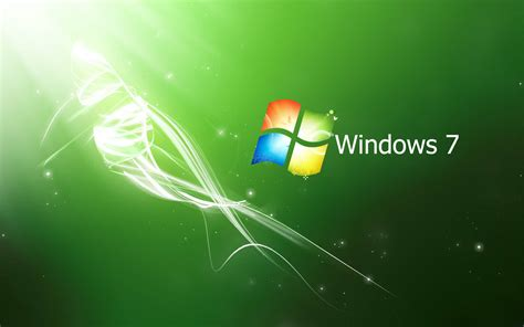 computer themes for windows 7 wallpapers green windows 7 wallpapers
