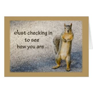 thinking of you card templates for word thinking of you squirrel card