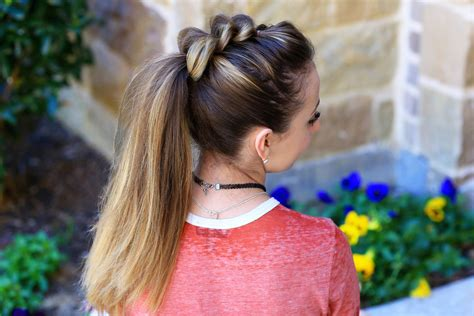 can mature women wear hair in pony tail pull thru ponytail cute girls hairstyles
