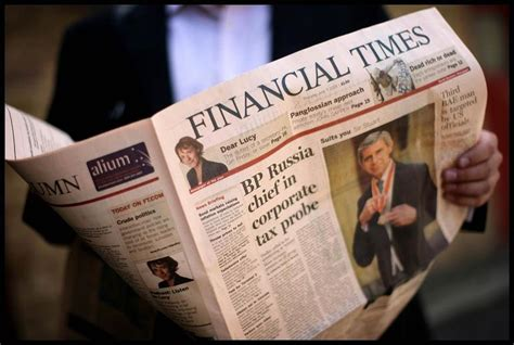 Financial Times Newsletter The Ft Doubles On Its Newsletter And Aggregation