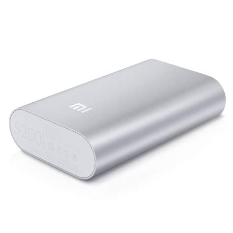 Mi Power Bank 5200mah jual xiaomi mi power bank 5200 mah