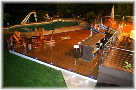 decking lighting ideas  important part  homes