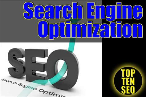 Top 10 Search Engine Optimization by Top10 Search Engine Optimization With Seo Rank The 1 Page