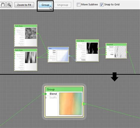layout editor ungroup what s new in filter forge 4 0