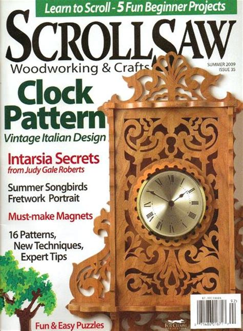 scroll saw woodworking magazine free scrollsaw woodworking crafts issue 35 pdf