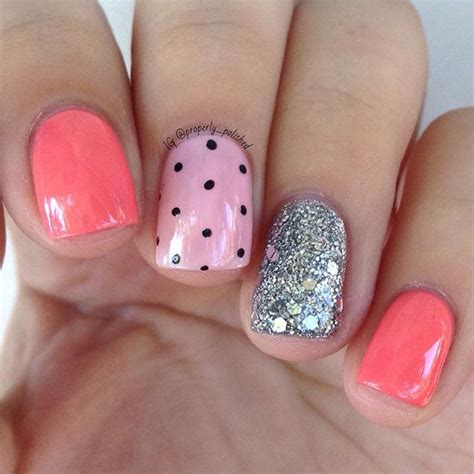 cute pattern nails 80 nail designs for short nails stayglam