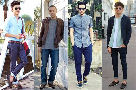boat shoes and jeans how to wear boat shoes for any occasion the trend spotter