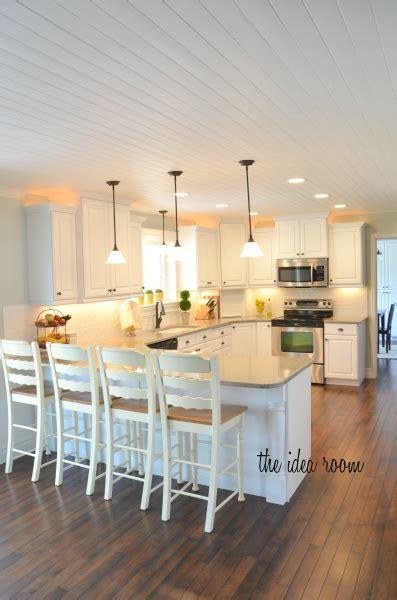 diy  wood planked ceiling householdtipsandtricks