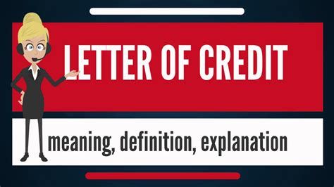 Meaning Fcr Letter Credit what is letter of credit what does letter of credit