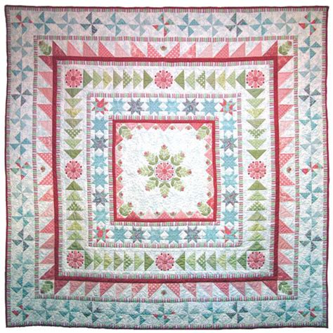 Snowflake Medallion Pattern | snowflake medallion quilt pattern