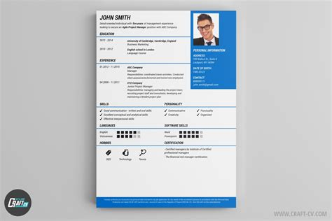 Best Unique Resume Templates by Mod 232 Les De Cv Exemples De Cv Cr 233 Er Un Cv Craftcv
