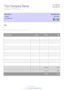 free invoice template doc this blank invoice template for microsoft word