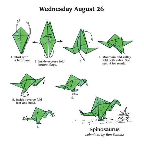 Simple Origami For - free coloring pages easy origami fold a day 2015 calendar