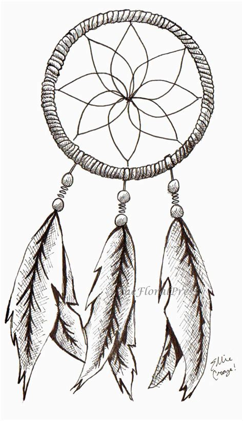 dreamcatcher tattoo stencil beautiful dream catcher tattoo stencil for girls picsmine