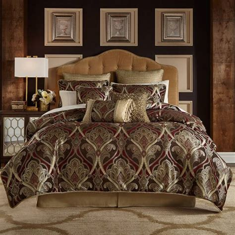 Michael Amini Bedroom Set shop croscill bradney comforters the home decorating company