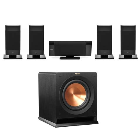 Small Home Theater Speakers Klipsch Gallery 5 1 Small Speakers Pack For Home Theatre
